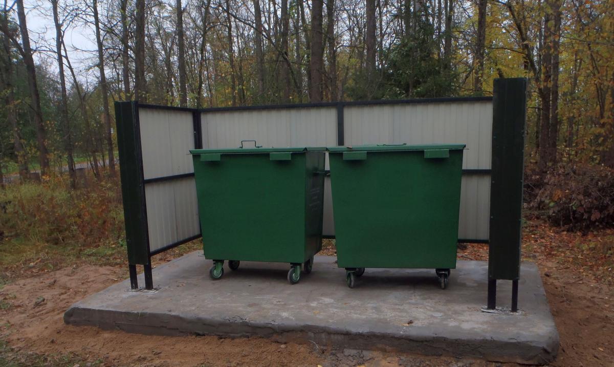 Мусорные контейнеры в деревне под Костромой появились только после суда