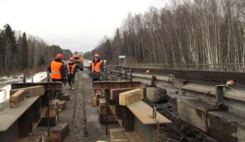 Капремонт стратегического моста в Костромской области закончат в этом году