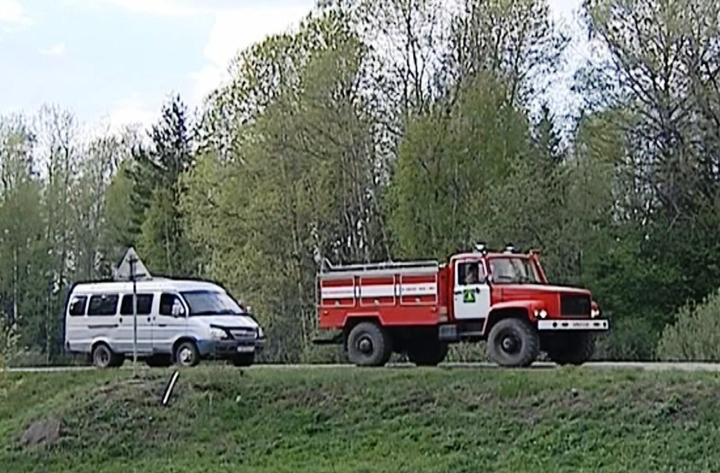 В районах Костромской области сохраняется особый противопожарный режим