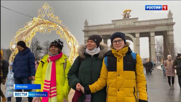 Юный костромич благодаря губернатору побывал в Москве