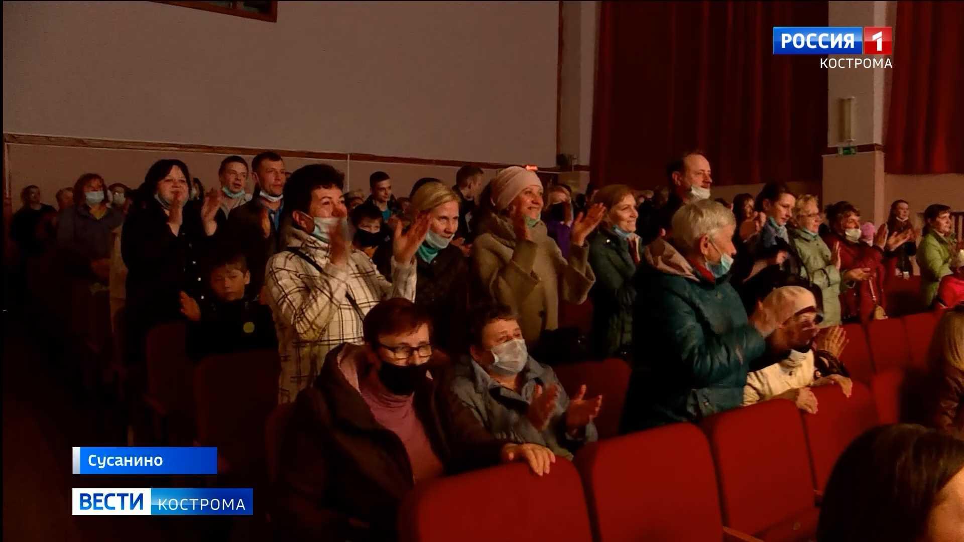 Молодых артистов балета в костромской глубинке зрители благодарили стоя