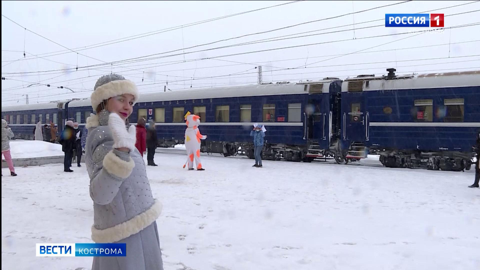 ГТРК «Кострома» заглянула внутрь нового туристического поезда