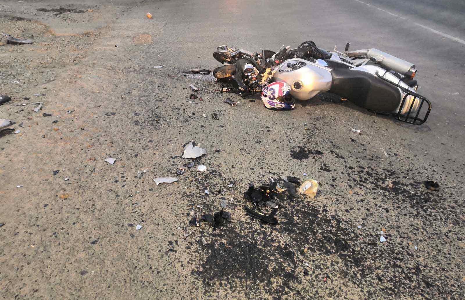 Мотоциклист попал под «КамАЗ» в костромской промзоне