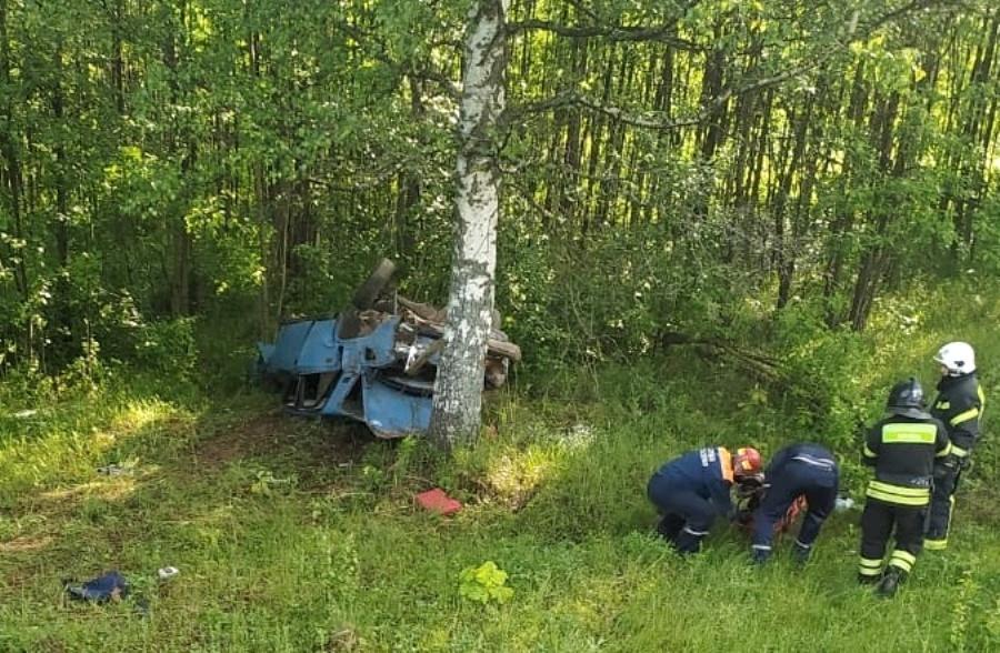 У деревни Куликово перевернулись «Жигули» с подростками: один человек погиб