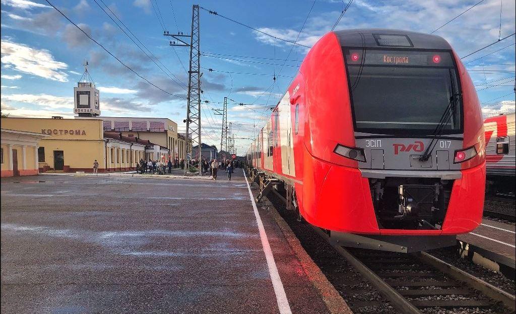 Костромская «Ласточка» близится к 100-тысячному пассажиру