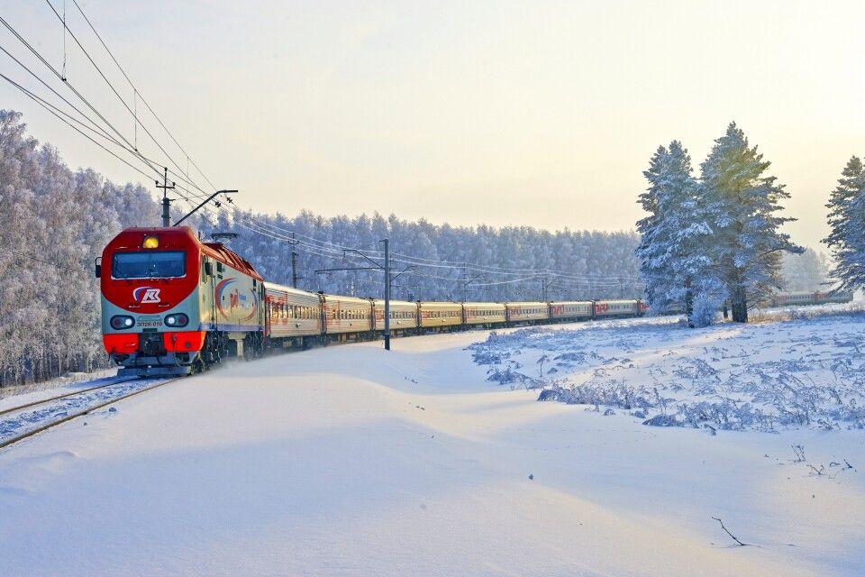 Сказочный круизный поезд-отель отправился в Кострому