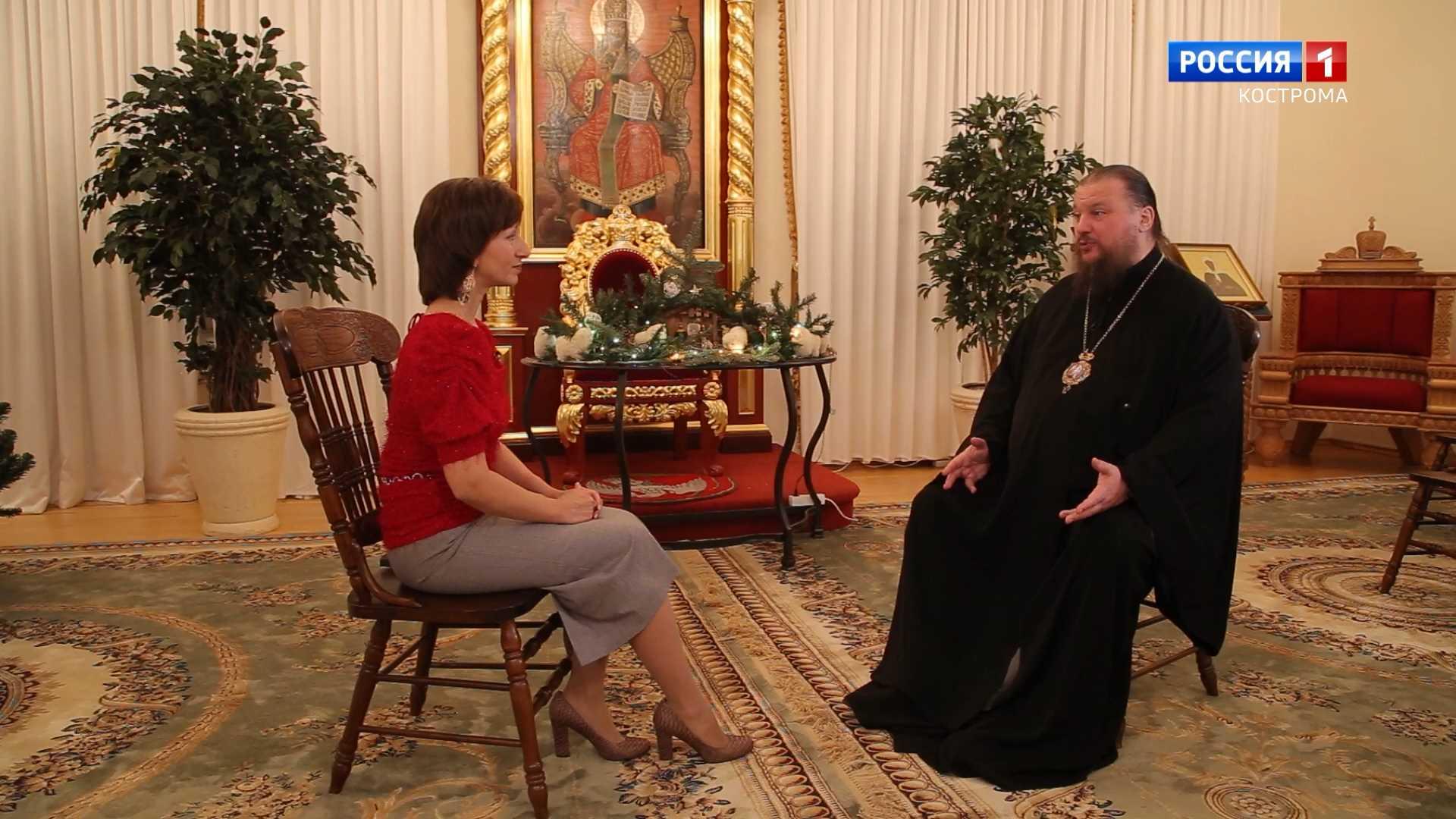Митрополит Ферапонт рассказал костромичам о празднике Крещения