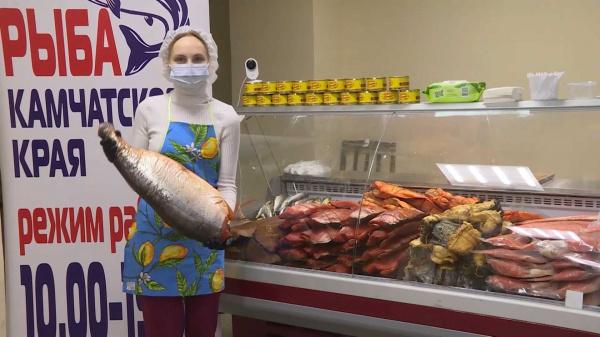 Передвижная выставка-продажа рыбы открывается в Костроме