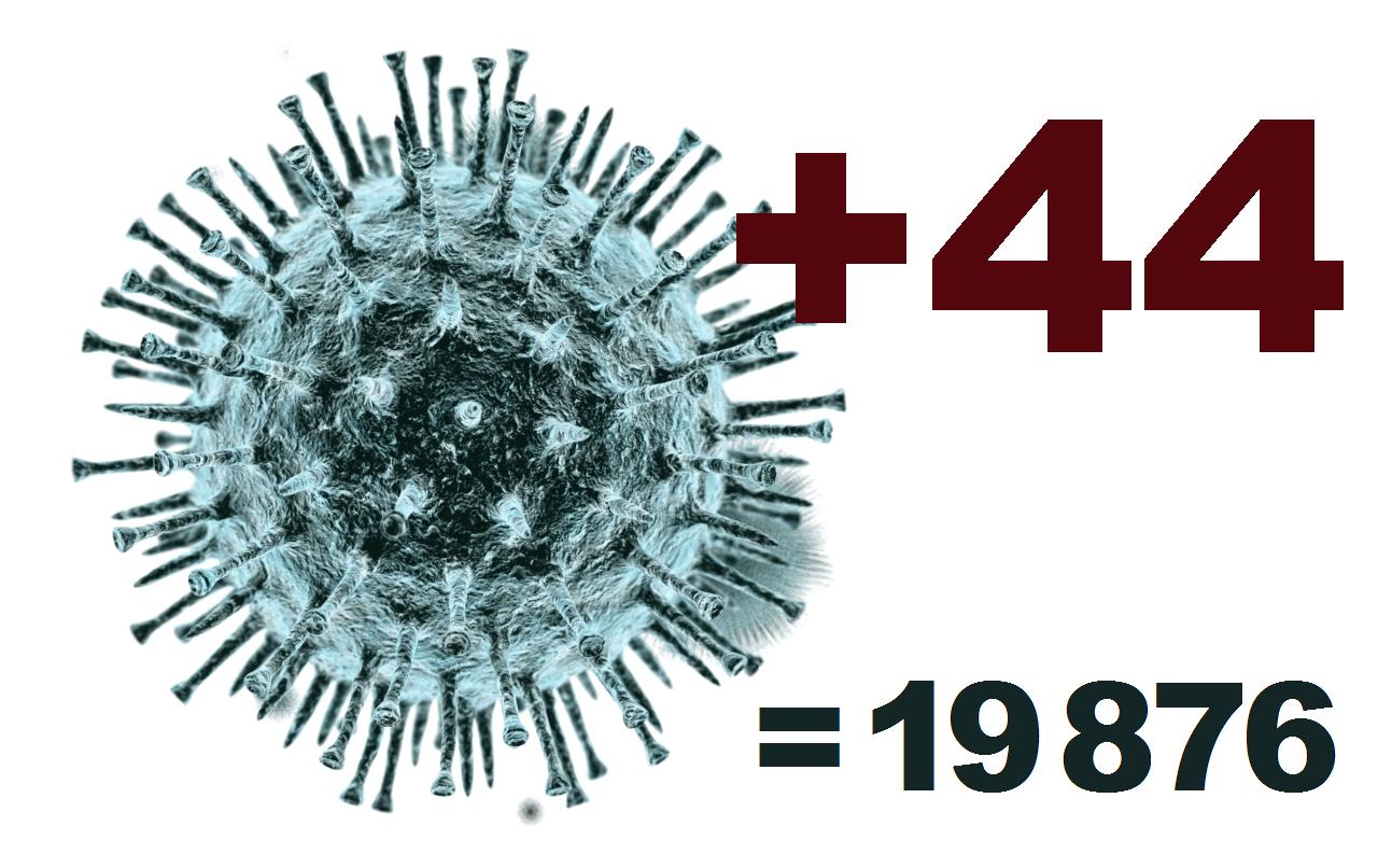 За сутки в Костромской области выявлено 44 заболевших коронавирусом