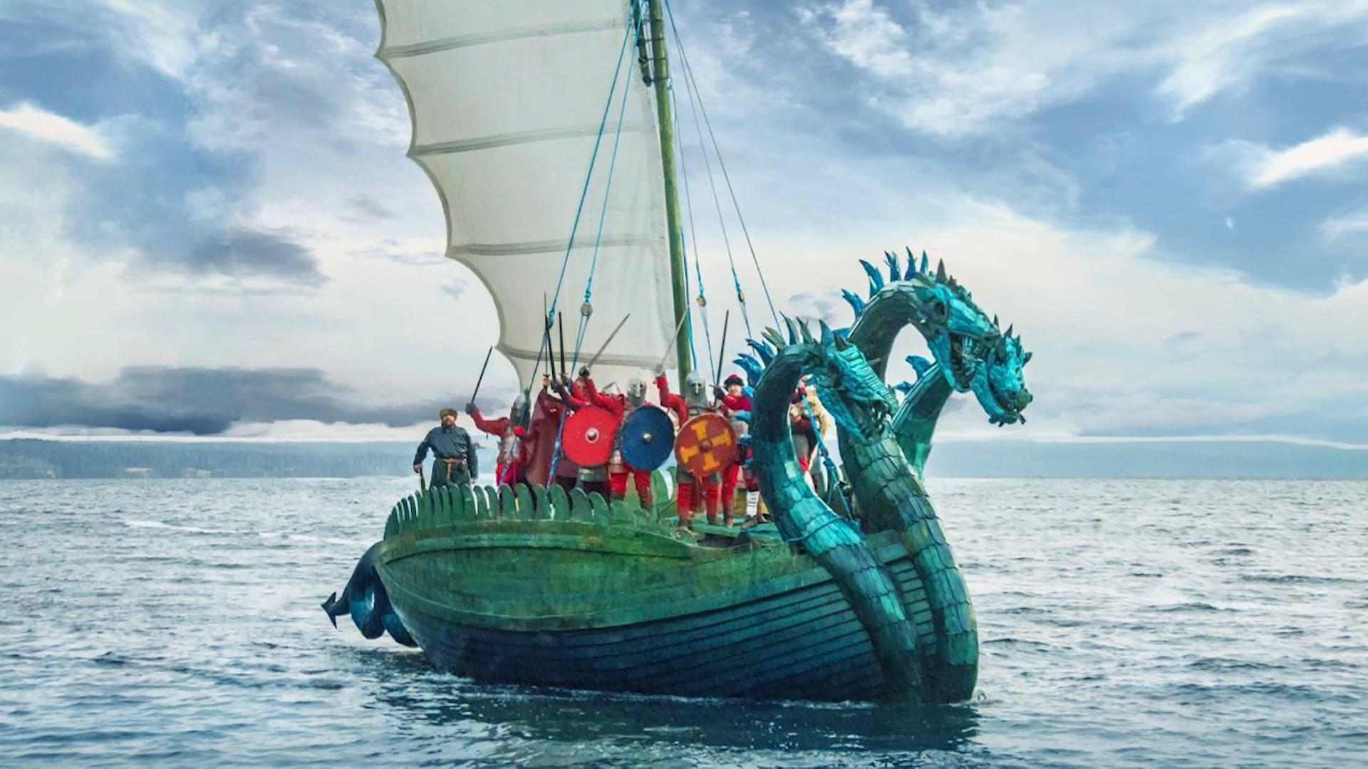К костромскому берегу причалит «Змей Горыныч»
