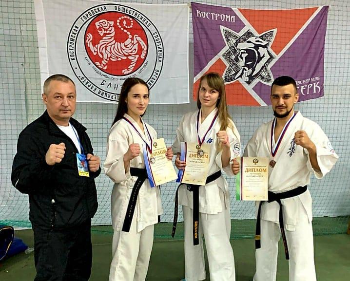 Четверо костромских каратистов попали в состав национальной команды России