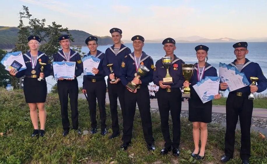 Костромские курсанты победили на Всероссийском сборе юнг