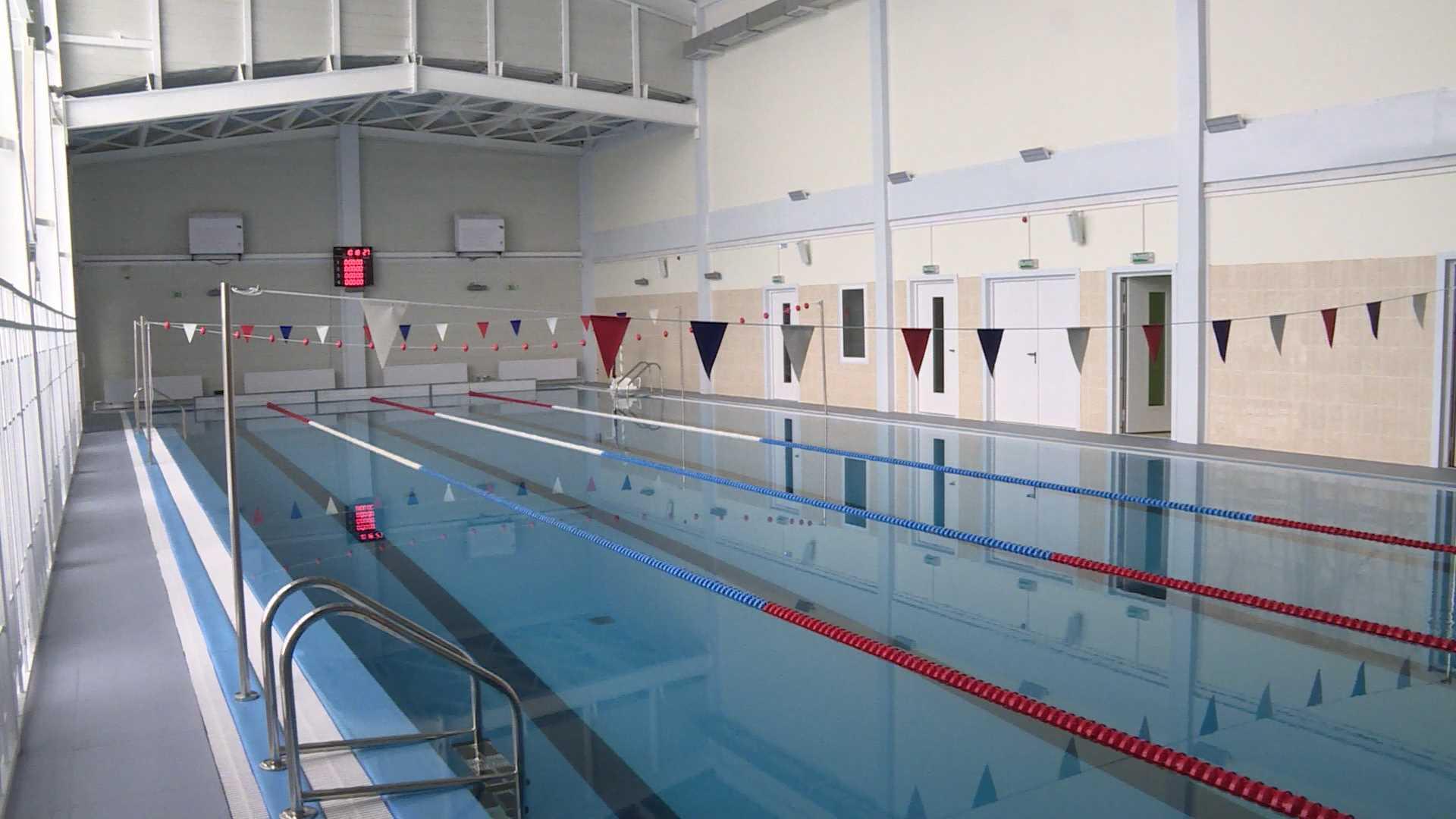 Новый бассейн в Нерехте временно закрыли на доработку