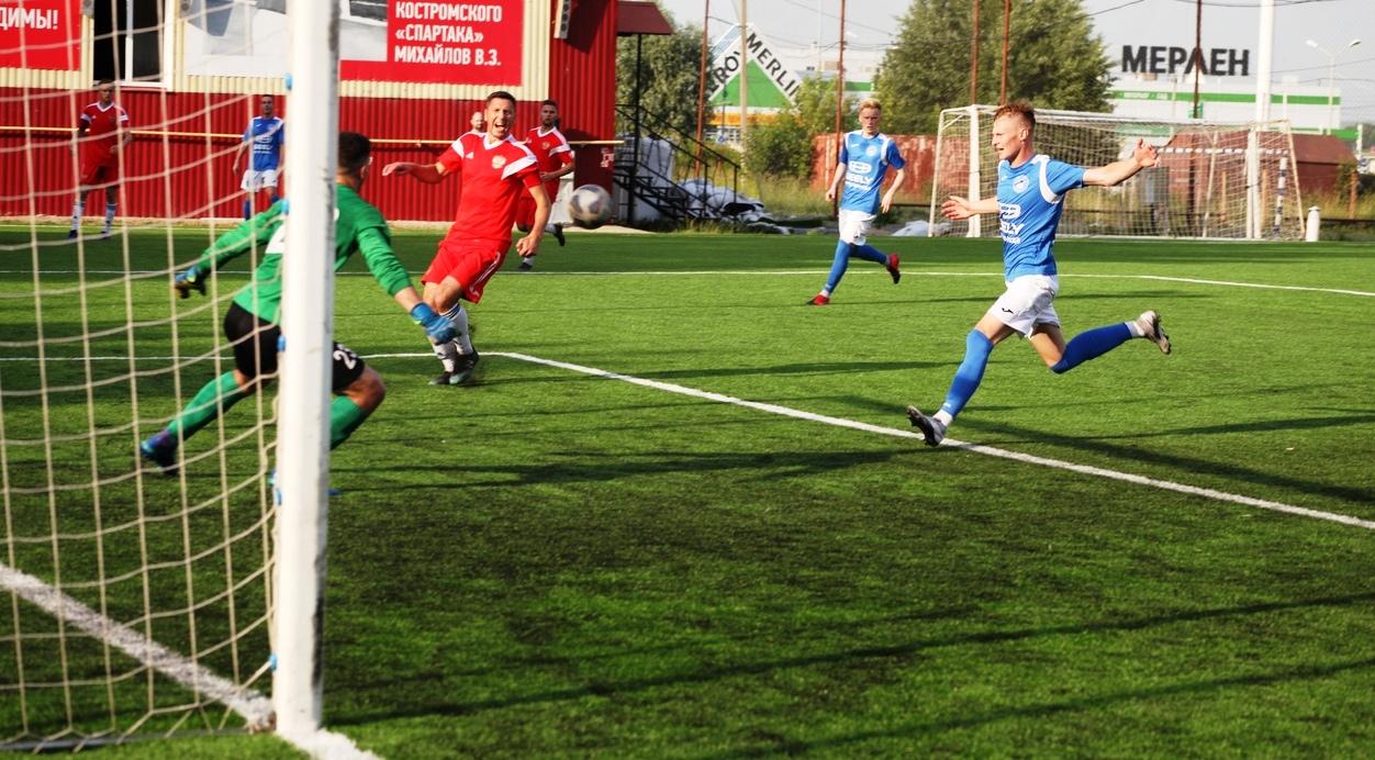 Футболисты костромской СШ №3 впервые в сезоне проиграли дома