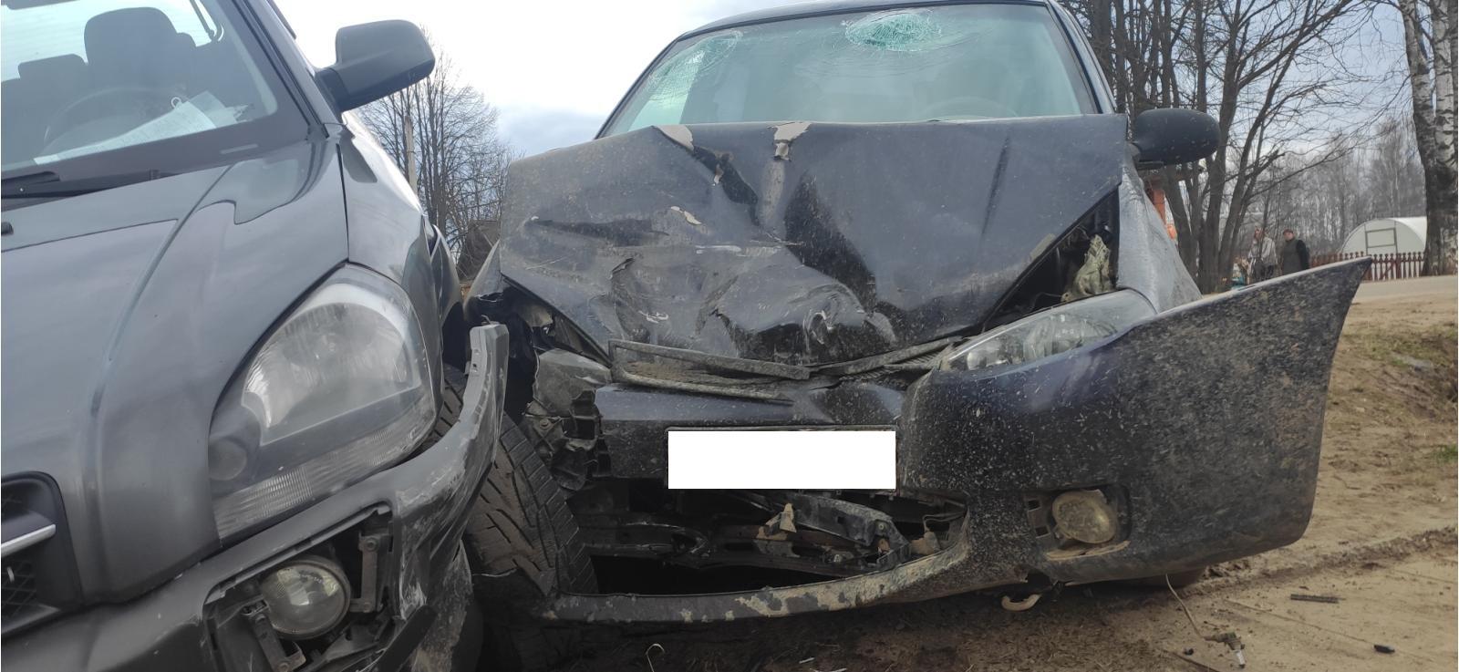 В ДТП на дороге райцентра пострадали три жителя Костромской области