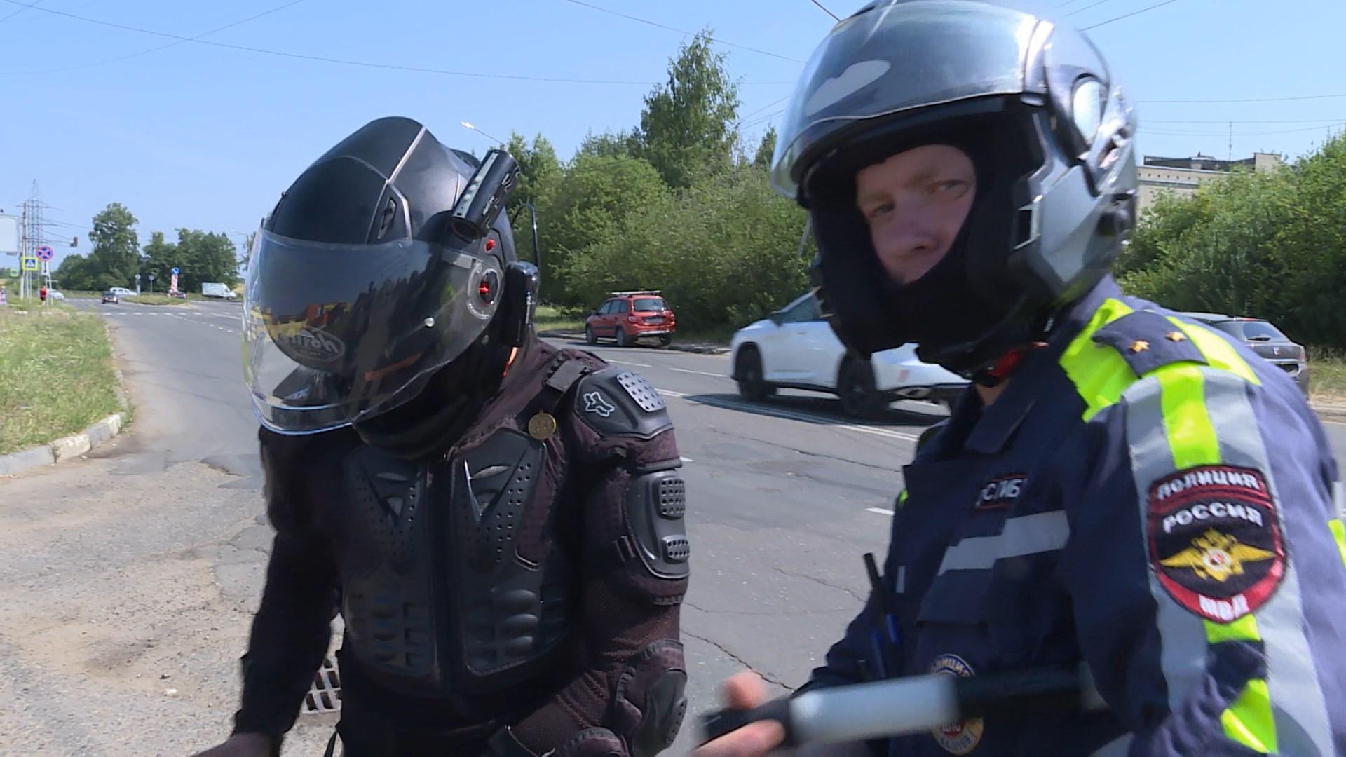 В Костромской области начинается мероприятие «Мотоциклист, не нарушай!»
