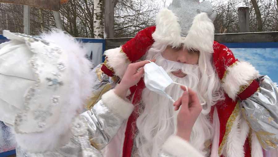 Волонтёры из Костромы могут стать Дедами Морозами в масках