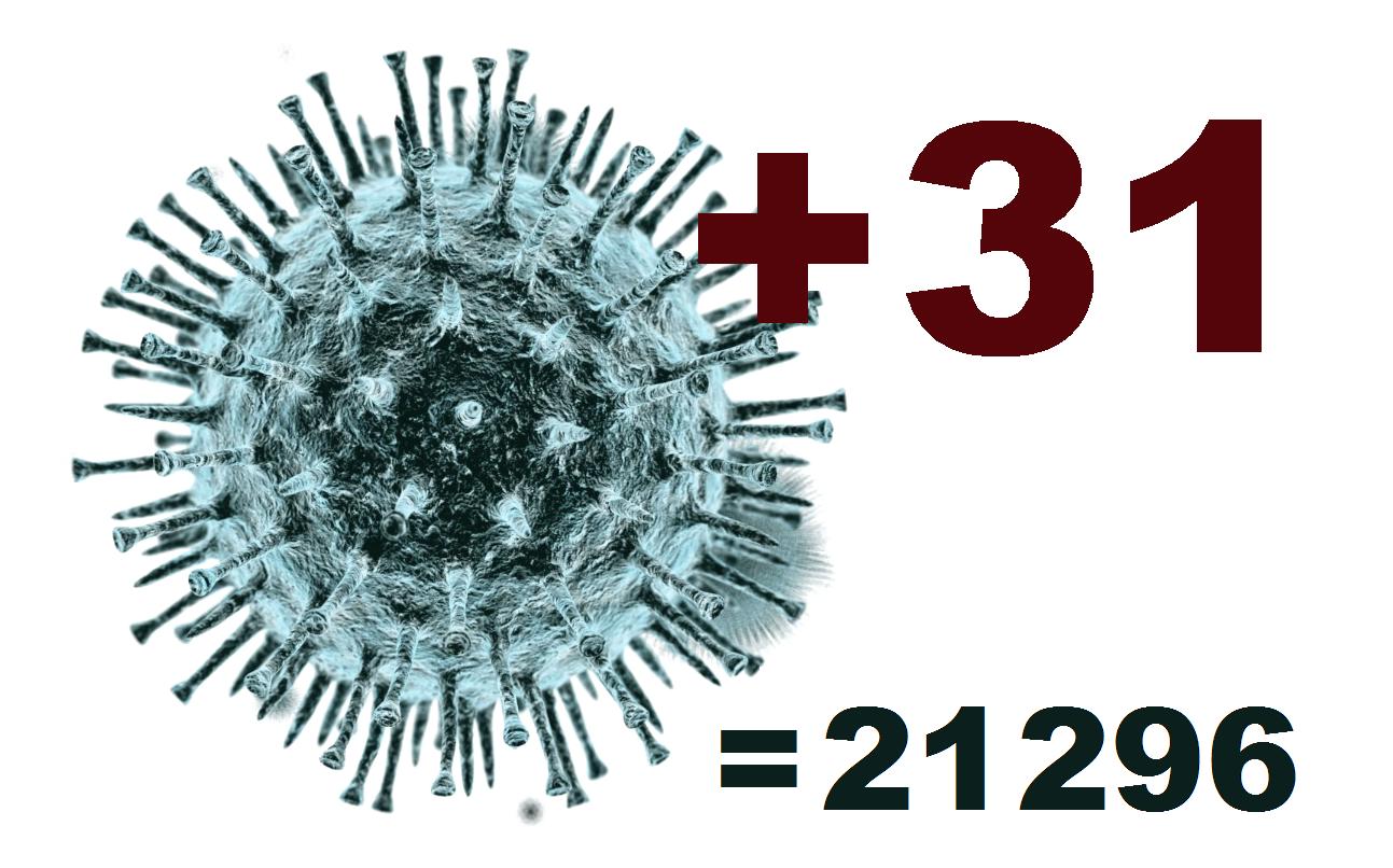 В Костромской области за сутки выявлен 31 заболевший коронавирусом