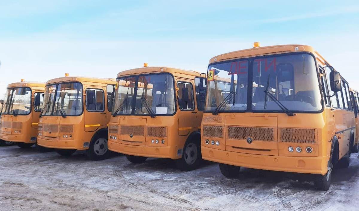 Районы Костромской области получат семь новых школьных автобусов