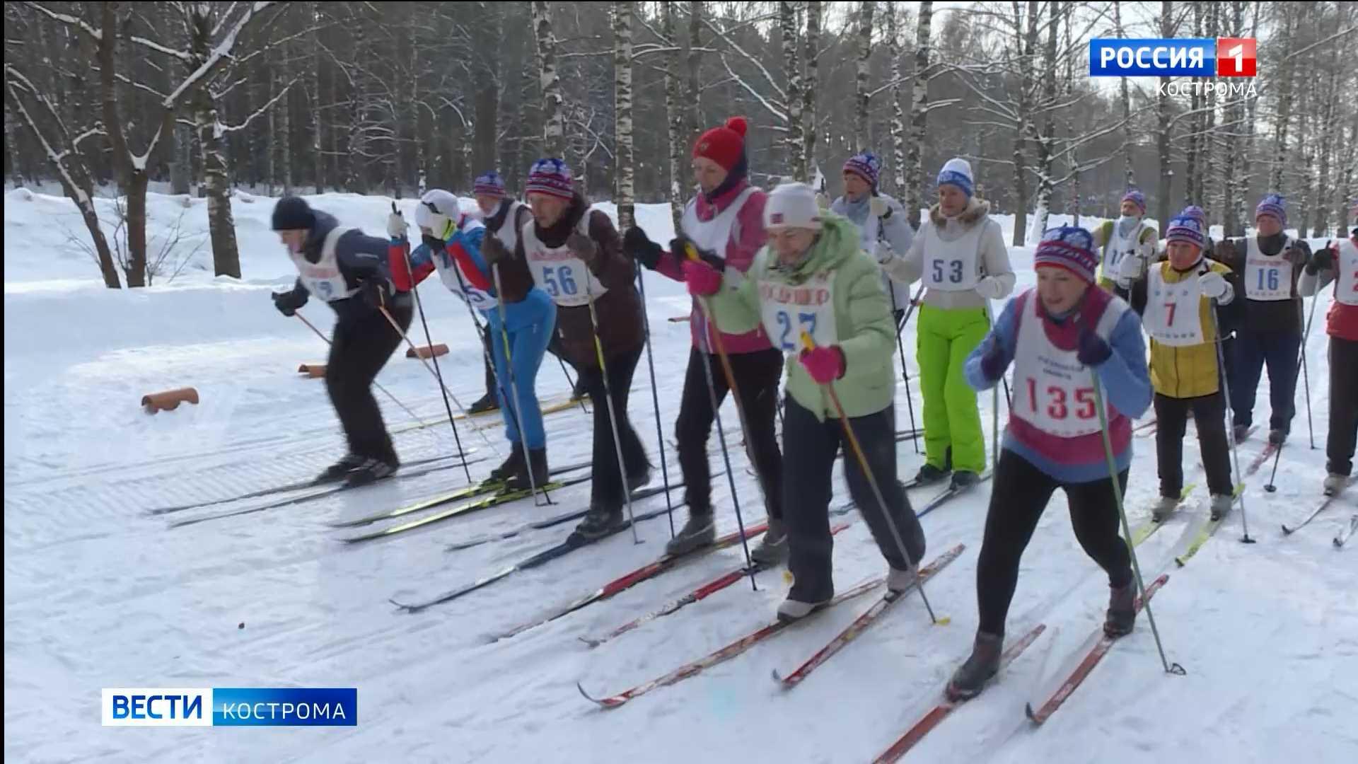 Морозостойкие костромские ветераны встали на лыжи