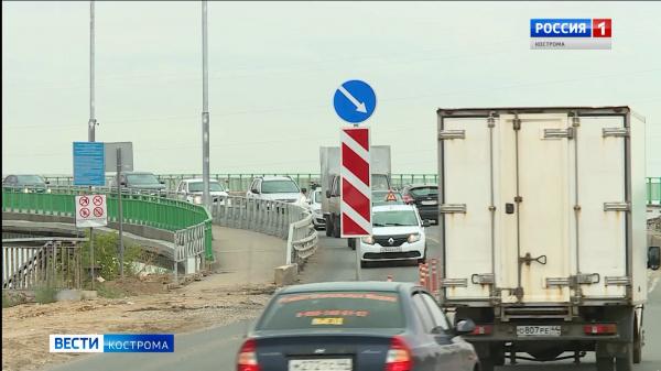 Эксперты пристально следят за ремонтом моста через реку Кострому