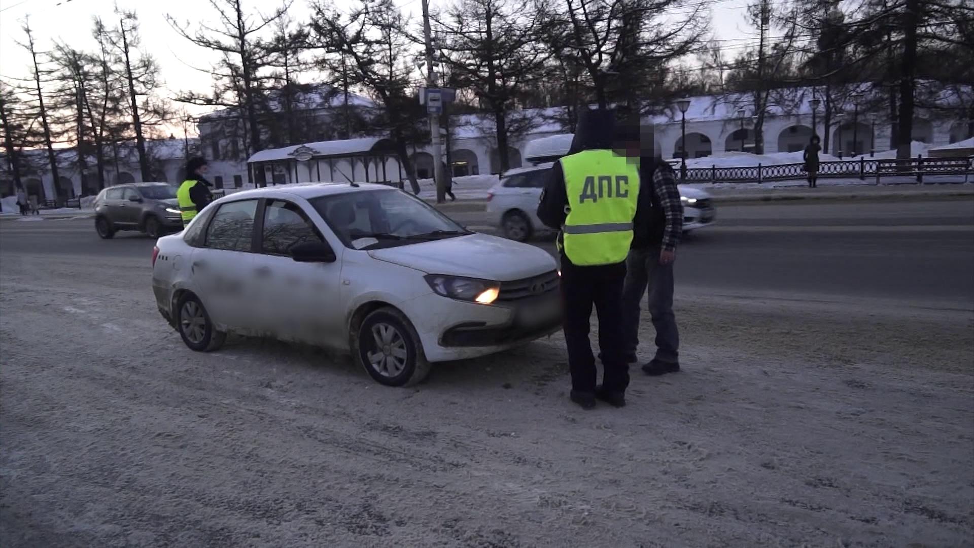 Пьяных водителей целенаправленно ищут в Костроме все выходные