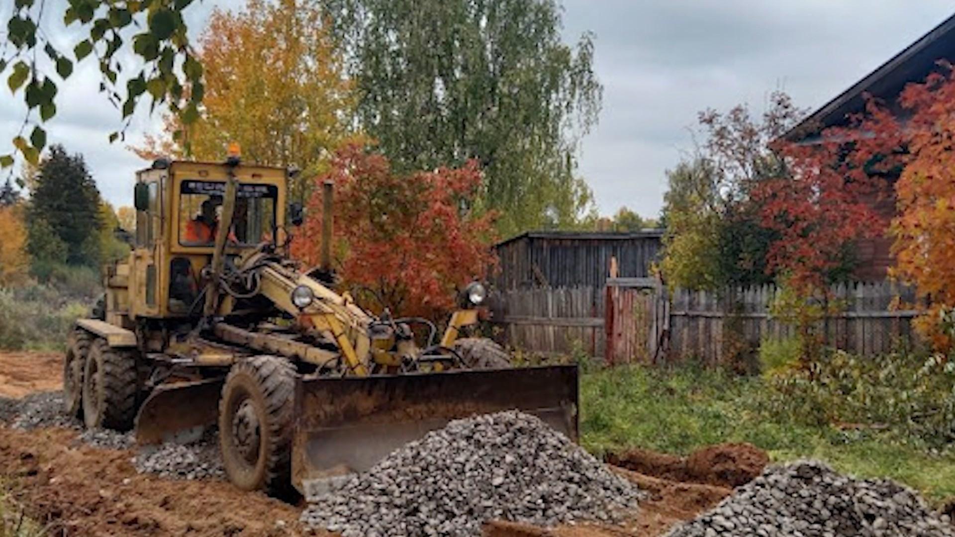 В Вохме взялись за ремонт одной из самых проблемных улиц – Пролетарской