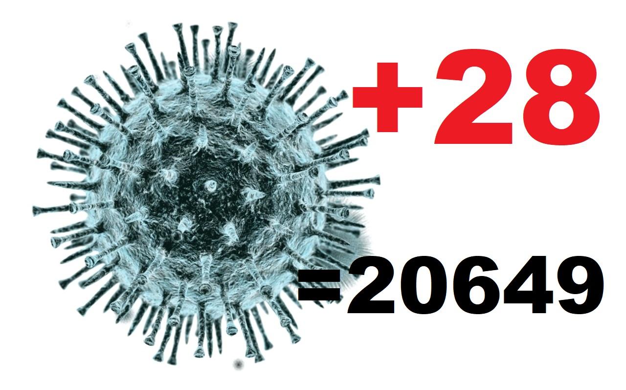 Коронавирусом за сутки заразились ещё 28 жителей Костромской области