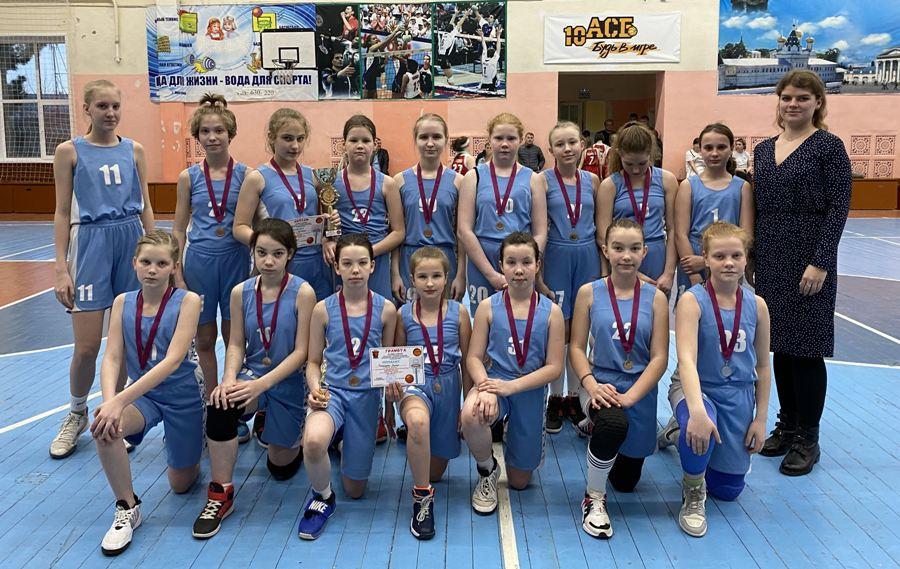 Юные костромские баскетболистки перекидали почти всех соперниц