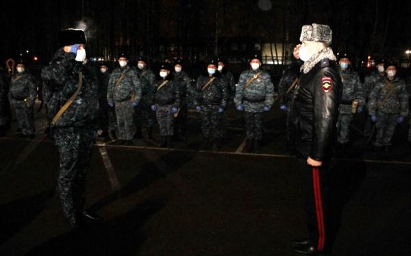 Сводный отряд костромской полиции вернулся с Северного Кавказа