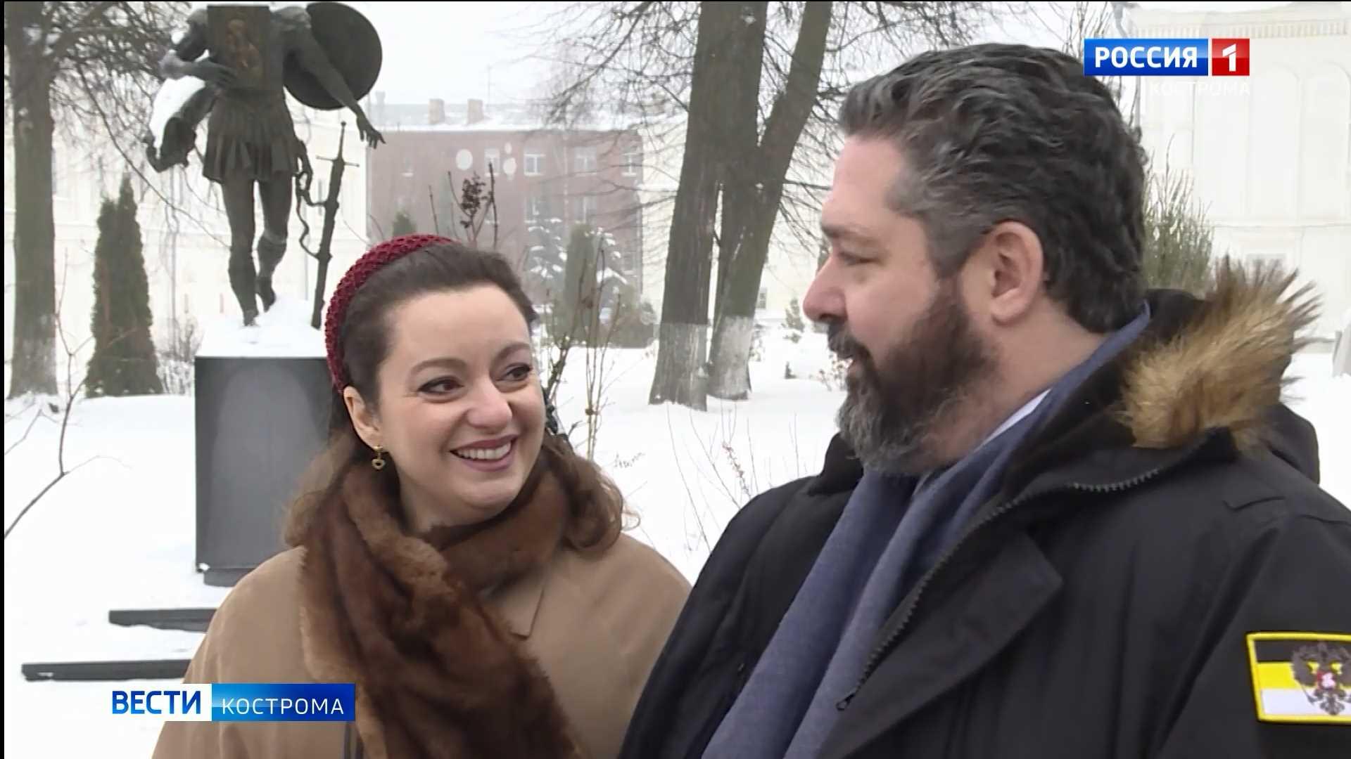 Князь Георгий Романов в Костроме подарил невесте особенное кольцо