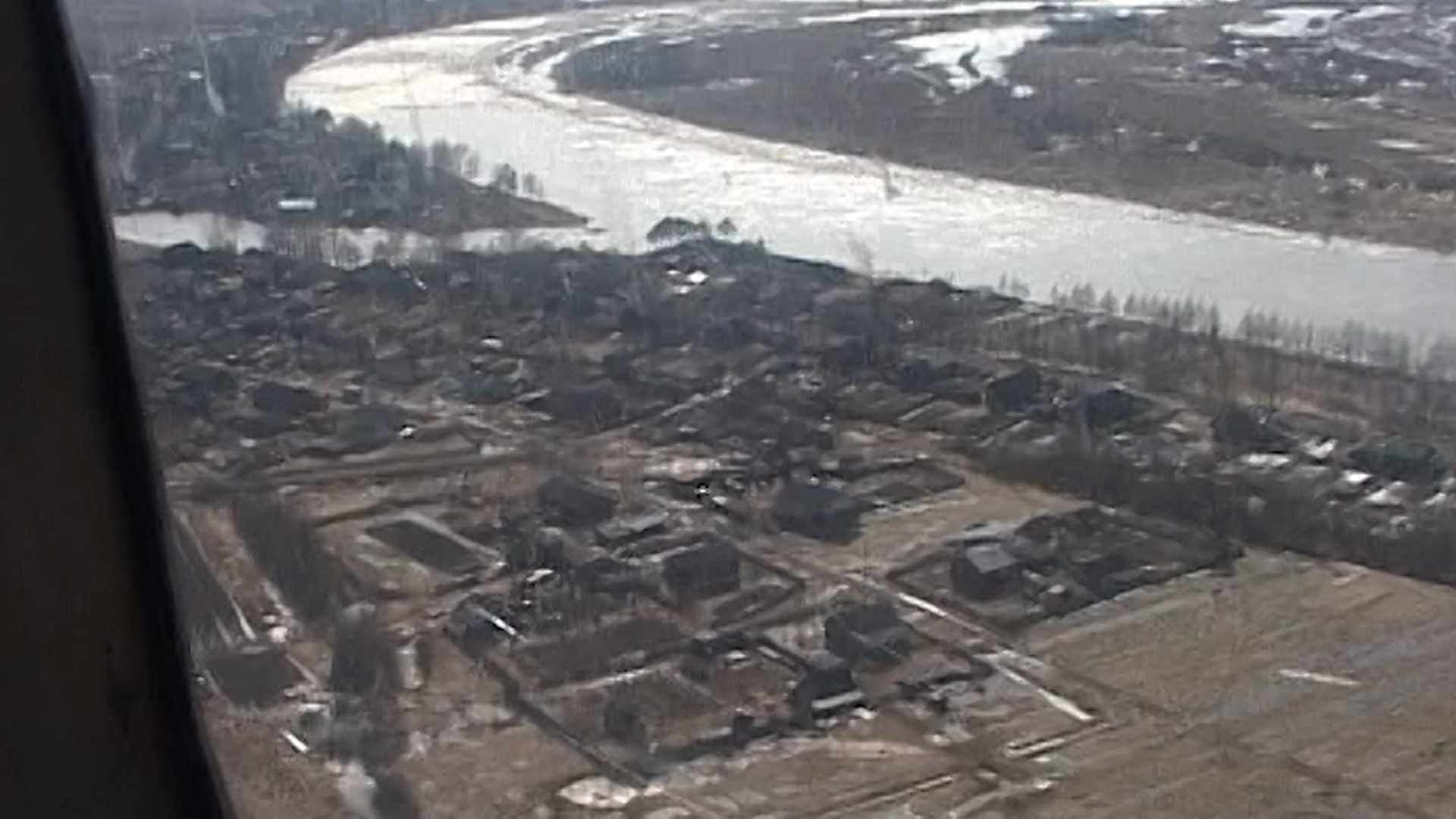 В реке Костроме наблюдается опасный подъем воды