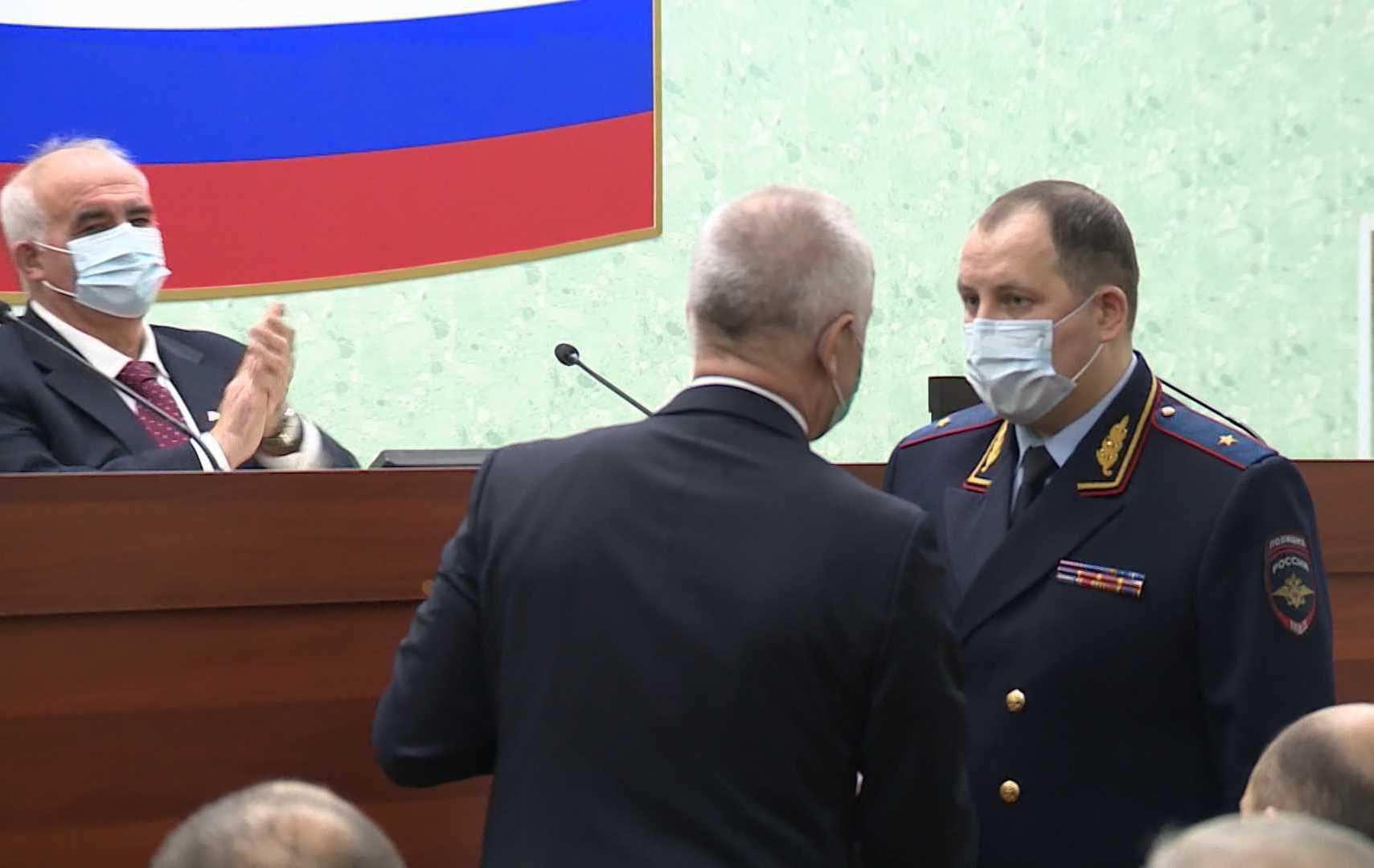 Заслуги главного полицейского Костромской области оценили на уровне ЦФО