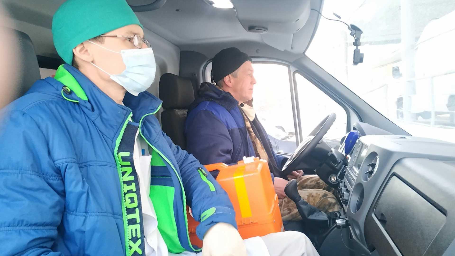 В два района Костромской области отправился новый медицинский транспорт