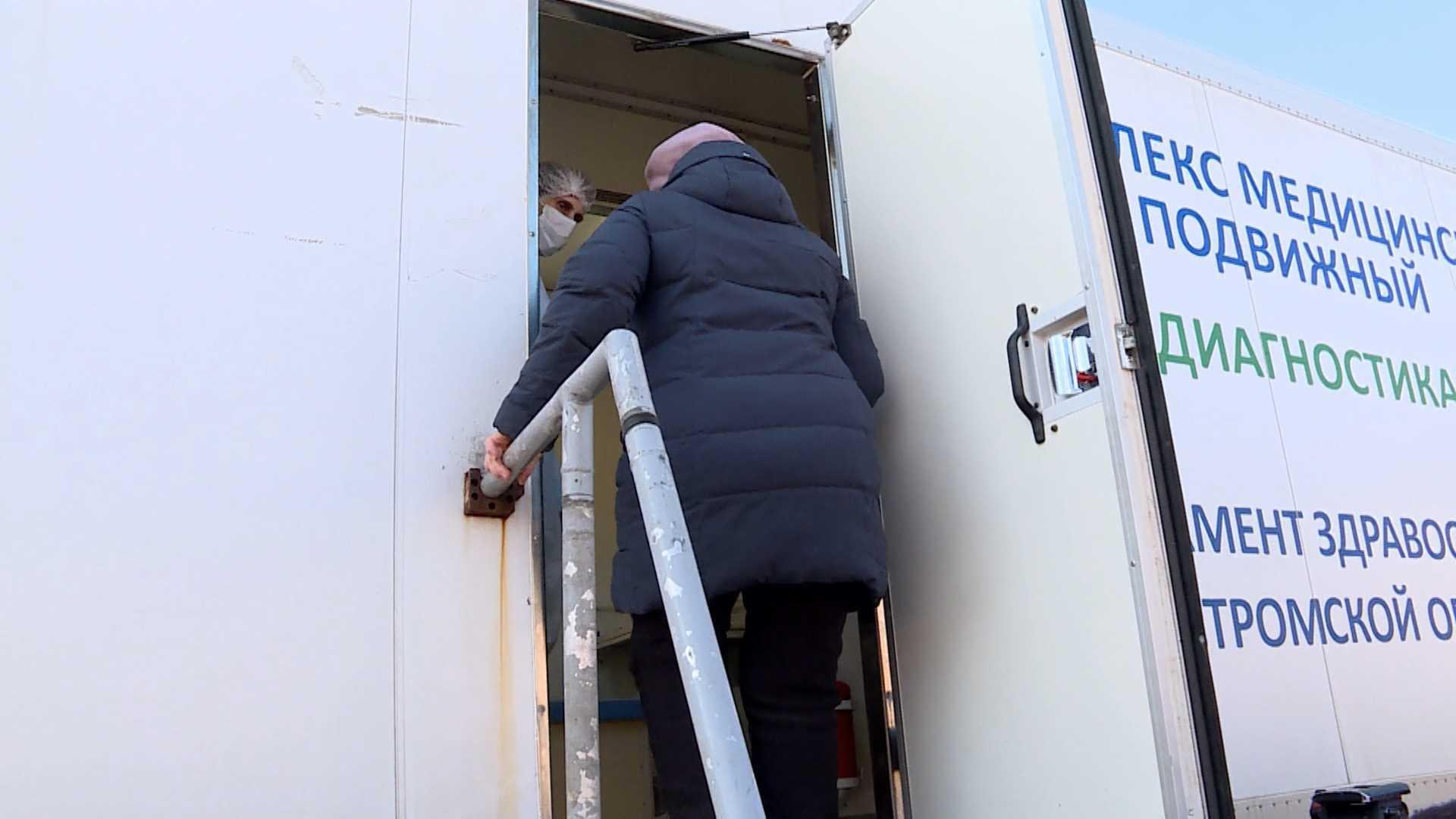 Гинеколог проведет осмотр пациенток на парковке костромского ТЦ