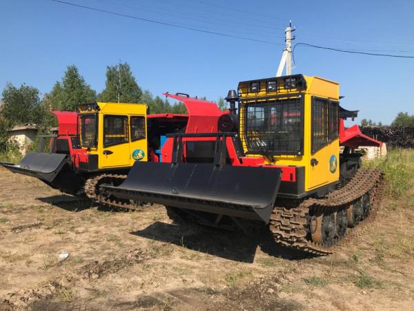 Свежеприобретенная лесопожарная техника сразу отправляется на тушение костромских лесов