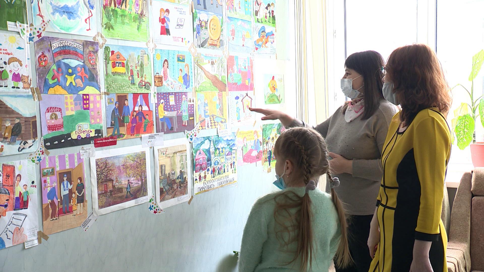 Школьники в Костромской области уже провели свою перепись населения
