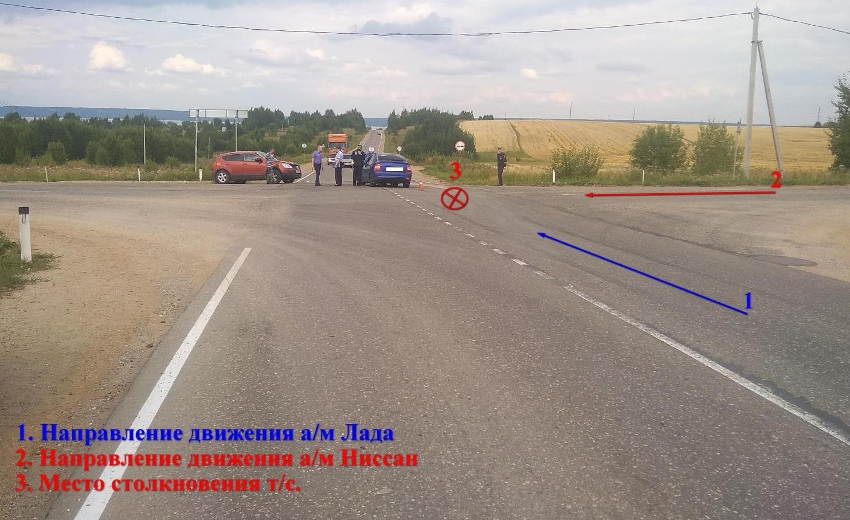 8-летний ребенок пострадал в ДТП на костромской дороге