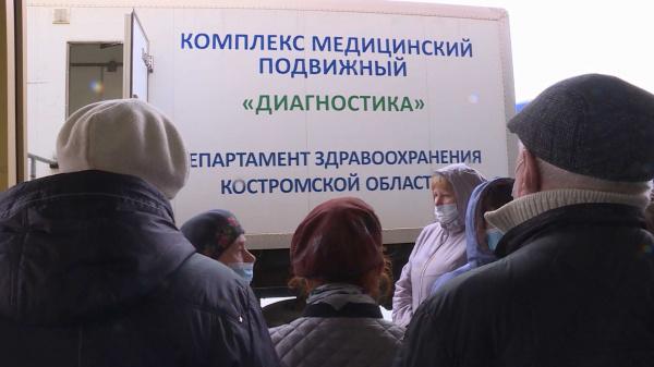 Погода не стала помехой вакцинации в Костроме