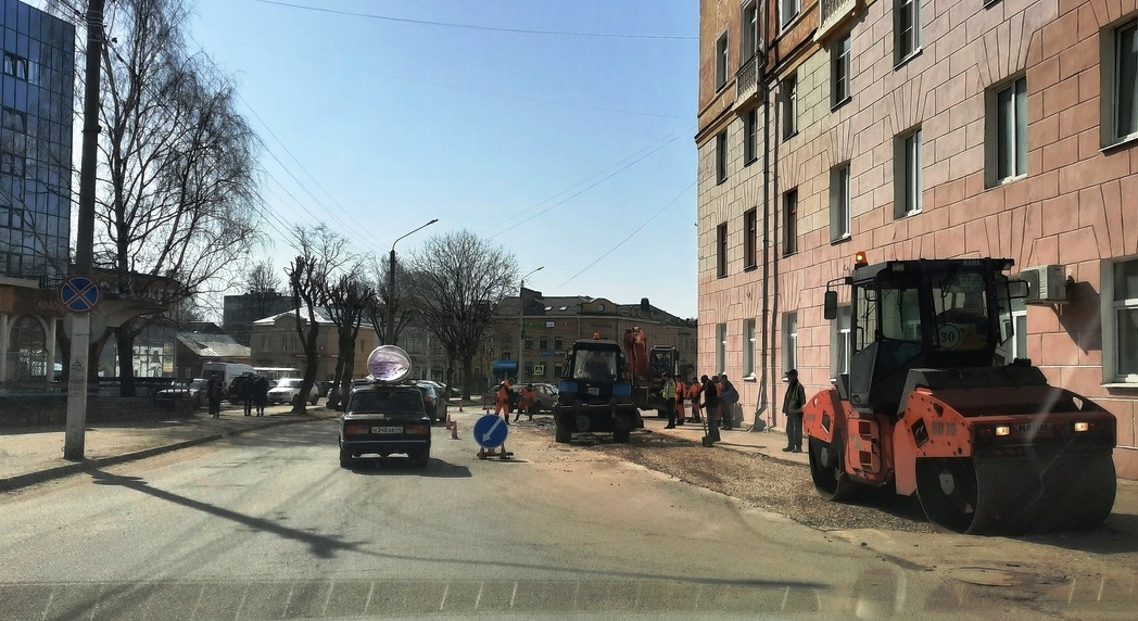Дорога на улице Энгельса в Костроме станет шире