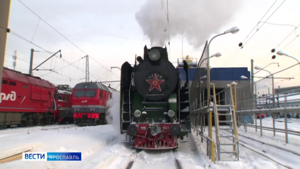 Костромской ретро-поезд определили на постоянную службу в Ярославле
