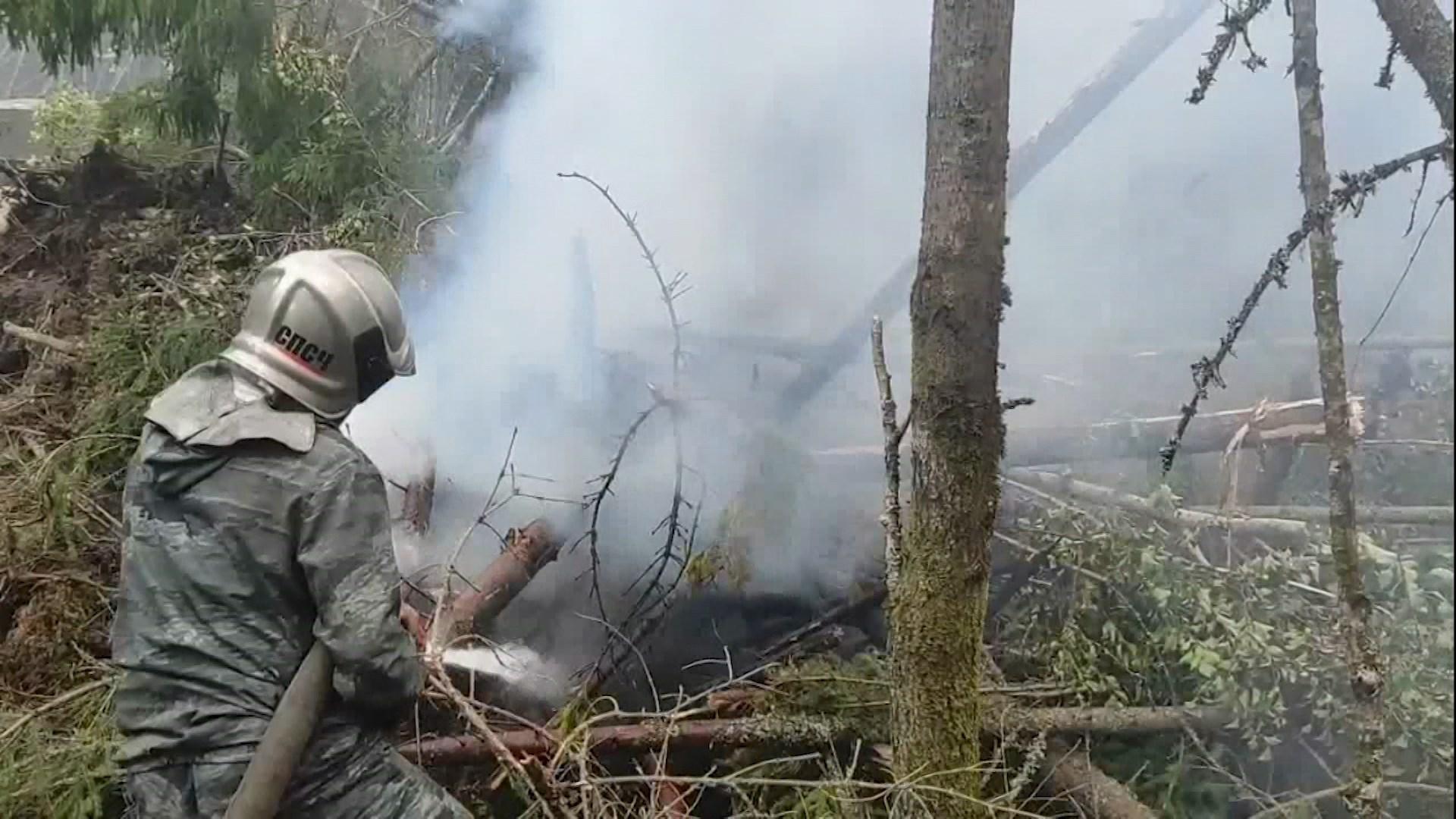В борьбе с крупнейшим костромским пожаром наметился перелом