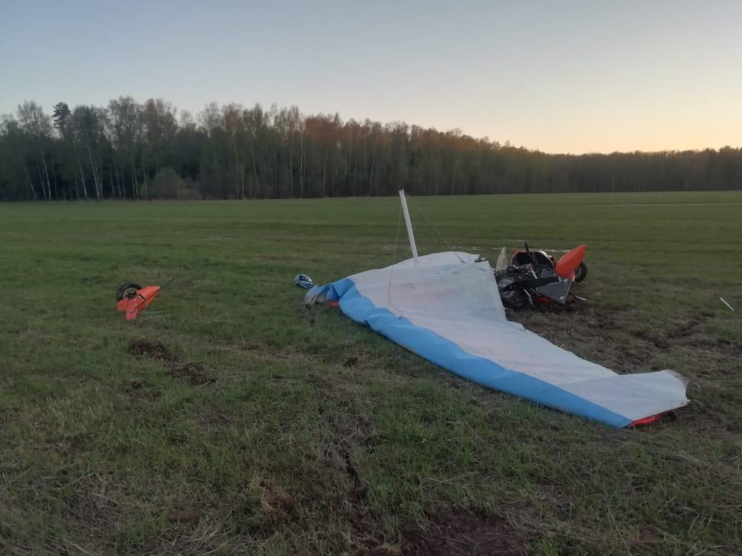Обстоятельства гибели пилота дельталёта изучат сотрудники костромского Следственного комитета