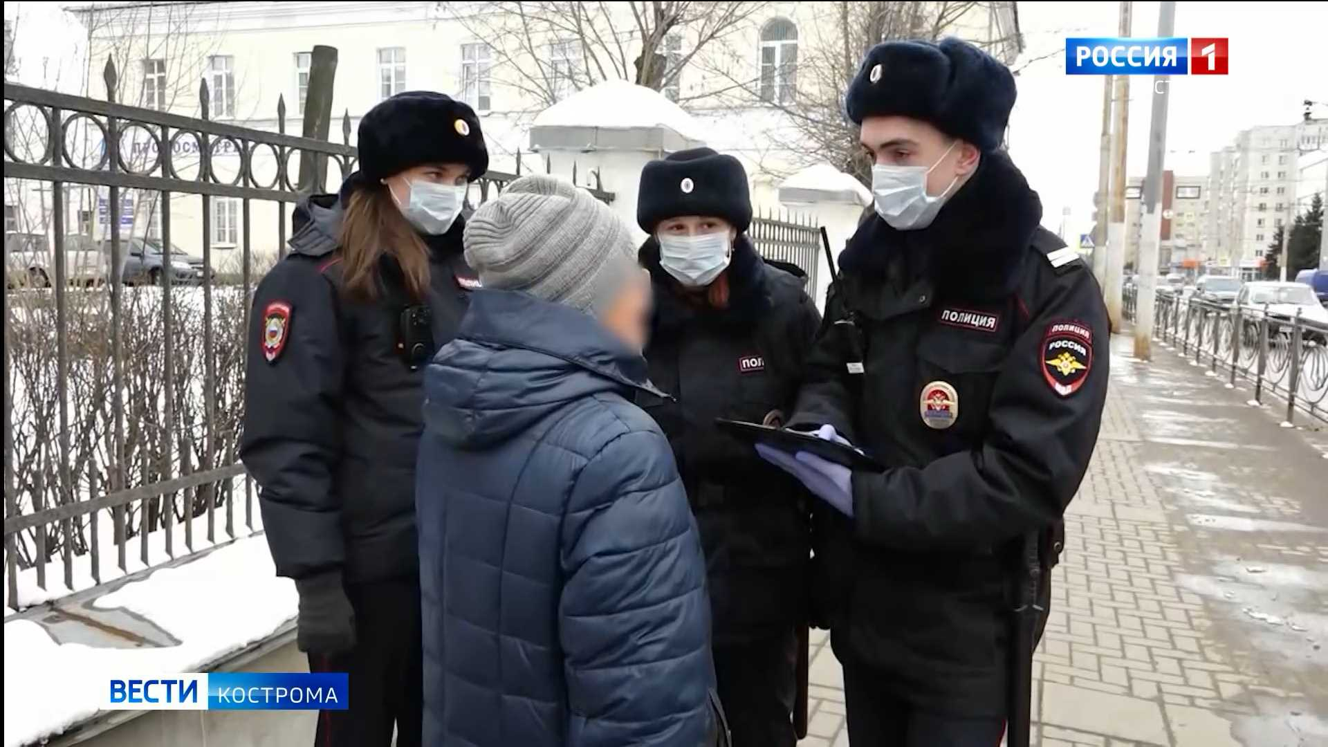 Криминал ушёл на дистанционку: костромские полицейские подвели итоги 2020 года