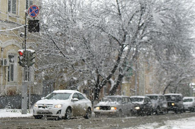 Снег в Костроме будет идти весь день и ночь