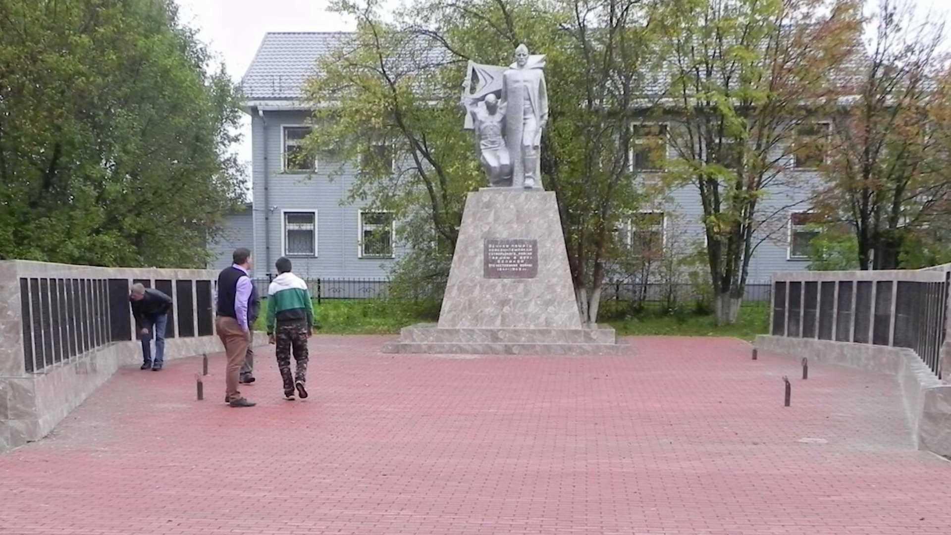 Памятник в костромской райцентре осветят новыми прожекторами
