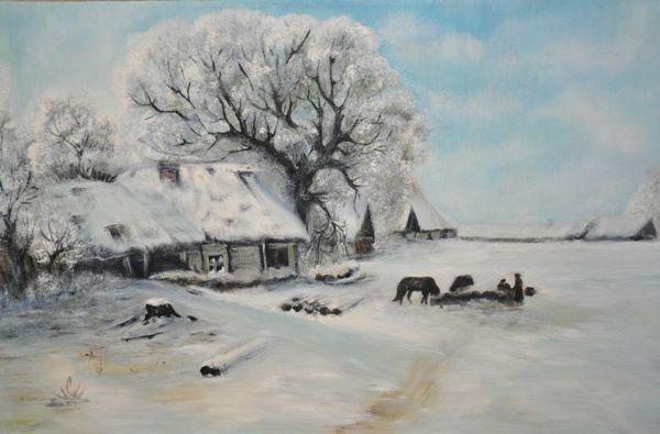 Картина костромского осужденного попала на всероссийскую выставку