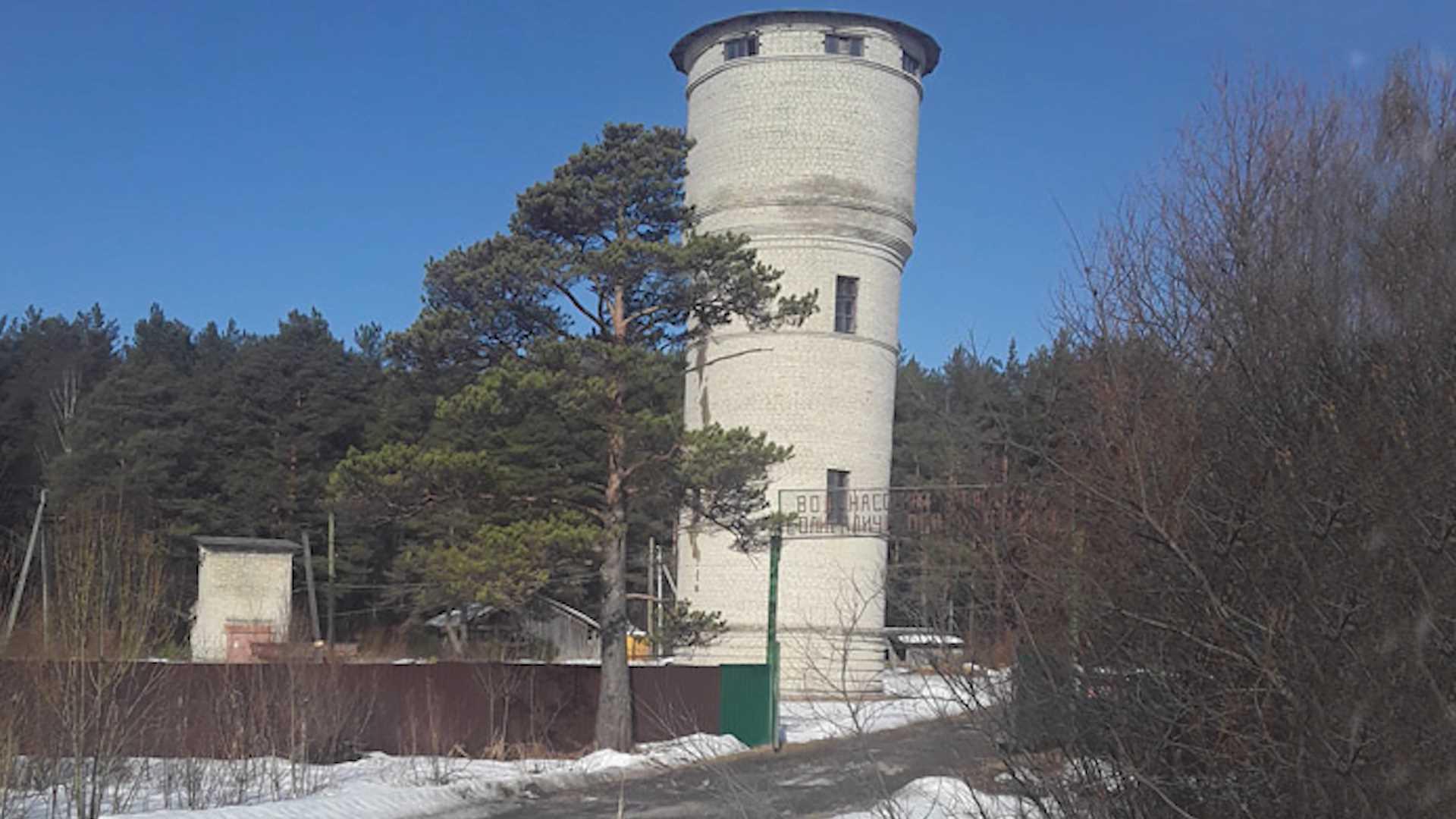В старинном костромском городе капитально отремонтируют водонапорную башню