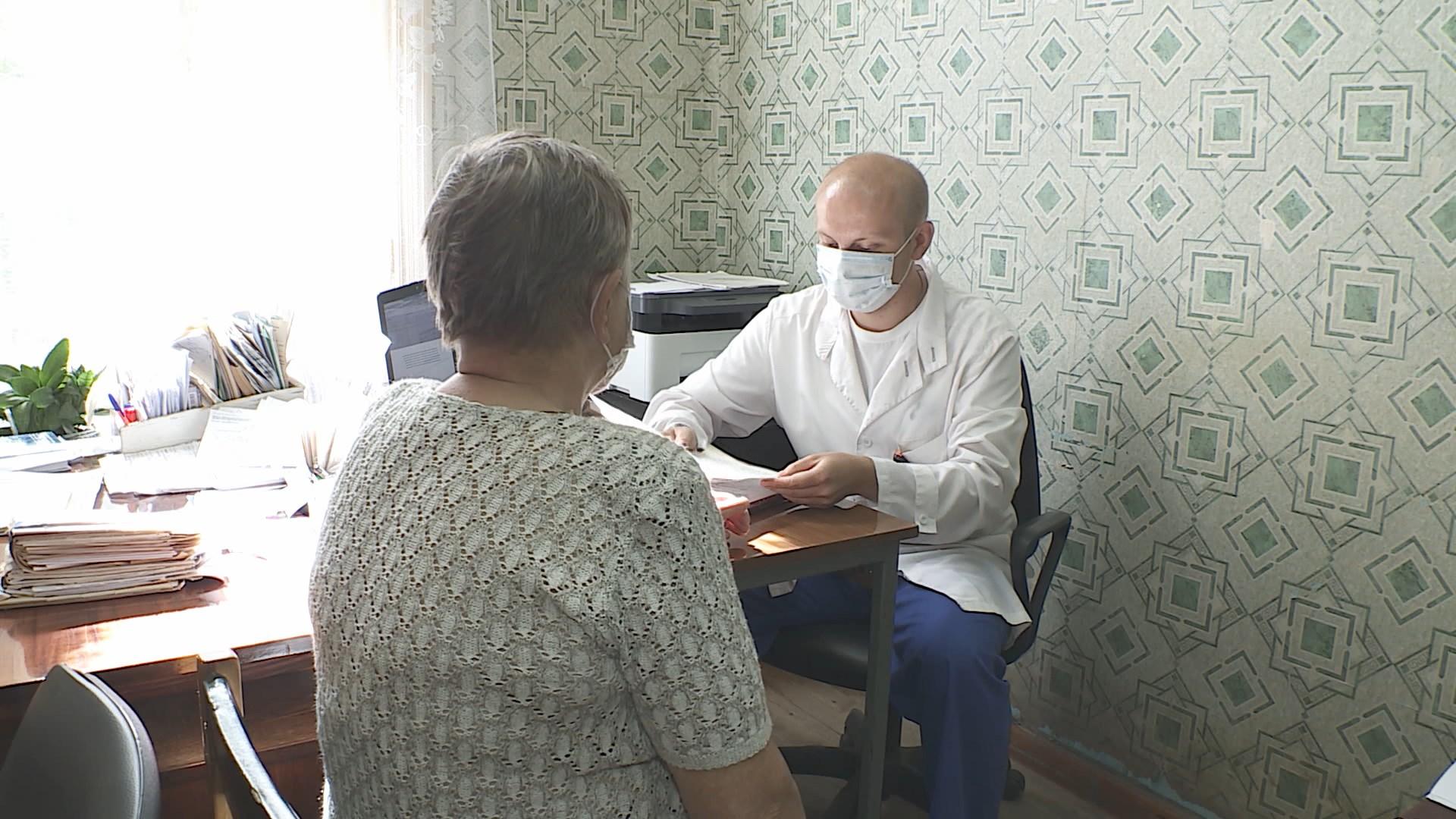 Здоровье жителей костромского райцентра обследуют приезжие врачи