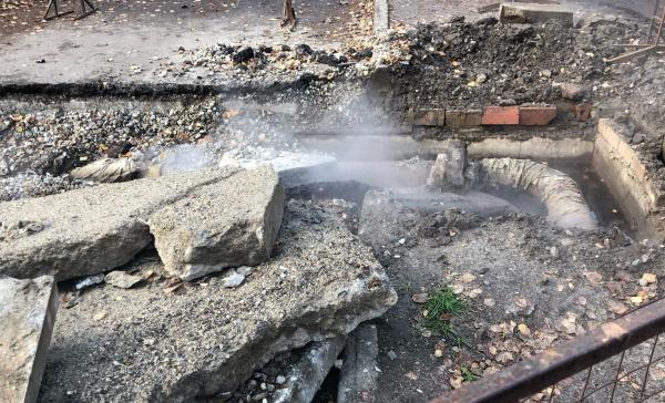 Костромичи жалуются на раскопы коммунальщиков